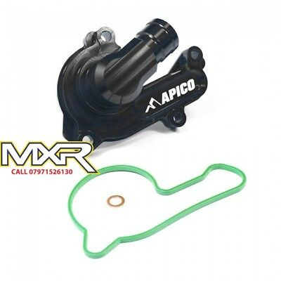 Apico Black Water Pump Cover Ktm Sxf 250 350 16-18 Exc-F Xc-F 250 350 17-18