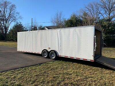 2018 Cynergy Enclosed Motorcycle Race Car Trailer