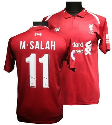 Liverpool Home Number 11 Salah Football Shirt adult Sizes 2018/19