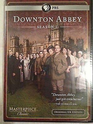 Masterpiece Classic: Downton Abbey - Season 2 (DVD, 2011, 3-Disc Set) Sealed