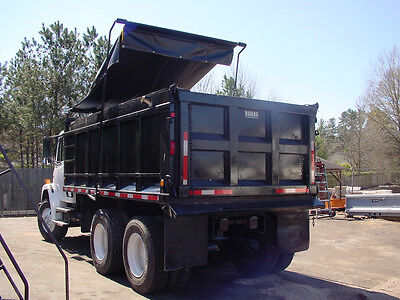 """Asphalt Dump Truck Tarp with Side Flaps for a 16'6"""" Bed *Various sizes available"""