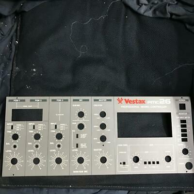 Vestax Pmc 26 rotary mixer faceplate pannello