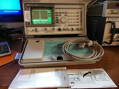 HP 8921A 8920A Communications Service Monitor Spectrum Analyzer LOADED TESTED