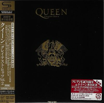 Queen Greatest Hits Vol Ii Japan 2016 Rmst Shm Mlps Cd - Brand New Gift Quality!