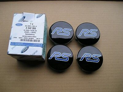 Ford FOCUS RS Mk3 Edition NEW, Wheel C/CAP X4 Black with RS  logo,Genuine Part