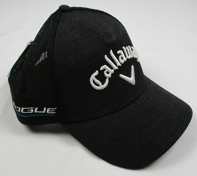 c710fd4cb88b2 Callaway Golf 2018 Tour Authentic Adjustable Rogue Odyssey Trucker Cap Hat  Black
