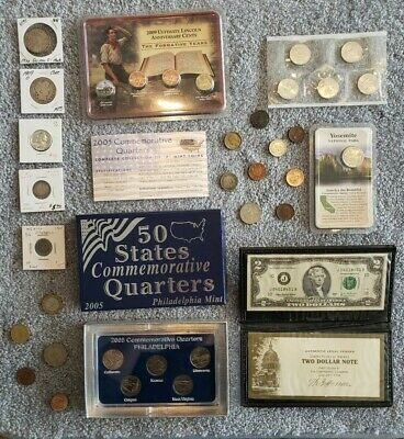 Junk Drawer Lot: Old U.S. Coin Collection,  Scrap Silver, Barber Half Dollar #52