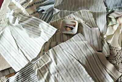 Lot Of Cotton Shirting-American Fabrics For Quilters,Dolls & Designers c1900