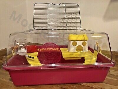Large Hamster Cage House With Toys, Wheel 50cm For Pet Hamster, Rodents, Mouse