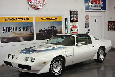 1981 Trans Am -TURBO COUPE-ONLY 9662 BUILT-T TOPS-CALIFORNIA CAR Pontiac Trans Am White with 101,000 Miles, for sale!