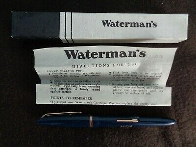 waterman,s fountain pen