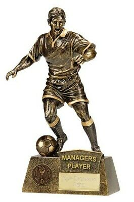 Managers Player Football Trophies