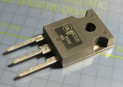 2x MBR7030WT schottky barrier rectifier 70A 30V, On Semiconductor