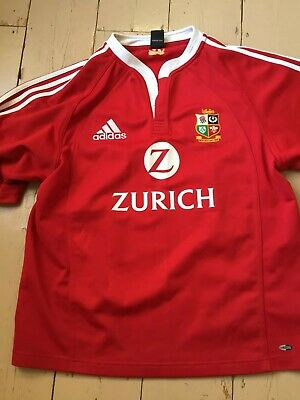 British Lions rugby shirt, large, Vgc