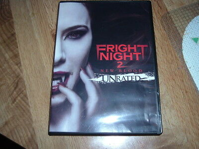 Fright Night 2 New Blood Dvd 2013 Horror Used Very Good Global Ship