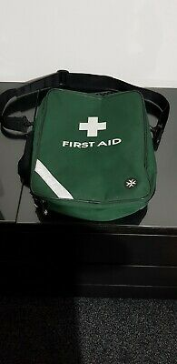 EMPTY First Aid Bag - Green Large Sling Style - Holdall Paramedic Bag - Free P&P
