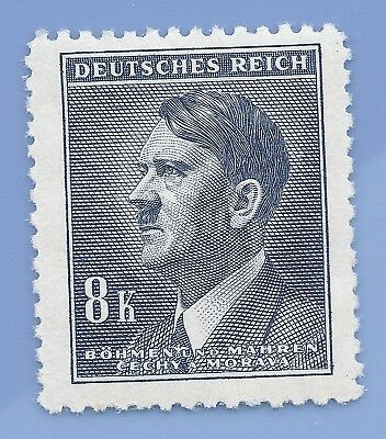 Nazi Germany Third Reich Nazi B&M Adolf Hitler 8k stamp WW2 ERA