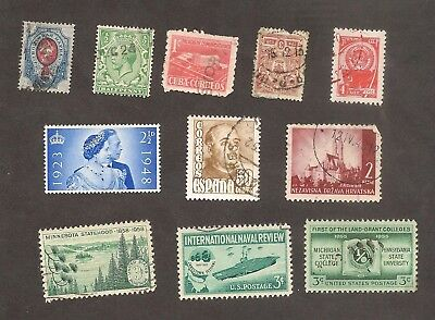 Good Interesting Stamps WORLD Early and Classic UK USA Russia Lucky Dip Lot#2