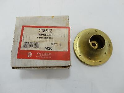 New Bell & Gossett 118612 Brass Impeller 4-1/4PRBZ-435