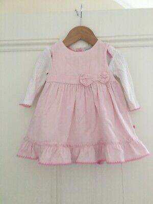 Girls' Clothing (newborn-5t) Dresses Purposeful Jojo Mamam Bebe Girls Dresses And Cardigans Age 12-18 Months
