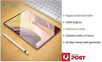 Nuglas tempered glass for iPad all models