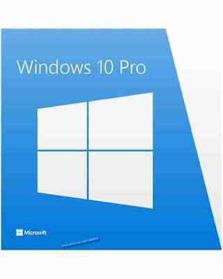 Microsoft Windows 10 Professional 64-Bit Vollversion Product-Key + DVD <1607