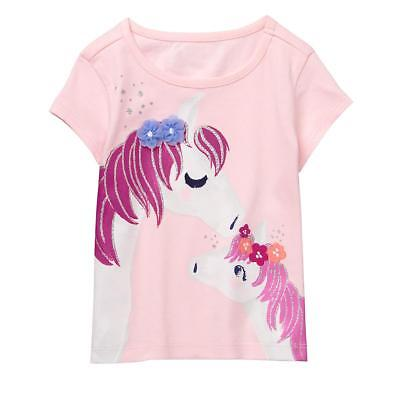 NWT Gymboree Horse Tee Shirt Top Girls toddler 2T,3T,4T,5T Everyday Playwear