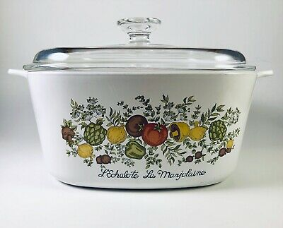 Vintage Corning Ware A-3-B Spice of Life 3 QT Casserole with Lid