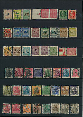 Germany, Deutsches Reich, Nazi, liquidation collection, stamps, Lot,used (HB 2)