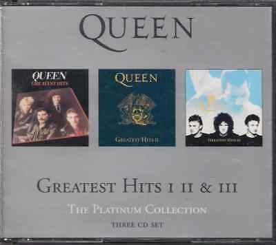 3-CD-Fatbox QUEEN/ Greatest Hits I, II & III/ 51 Songs/2000