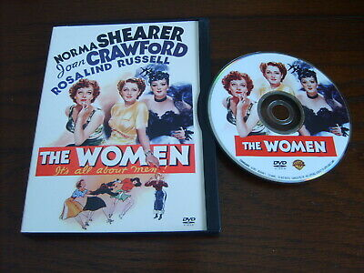 The Women (Dvd,1939,fs)~Unrated~Joan Crawford~Norma Shearer~Rosalind Russell