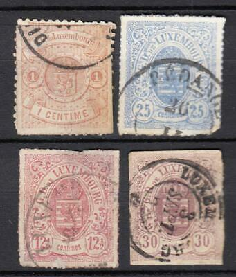 (122-10) Luxembourg Used Classics