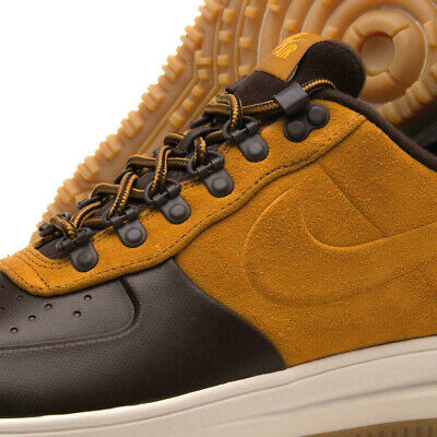 Nike Lunar Air Force 1 LF1 Duckboot Low WHEAT FLAX BROWN OCHRE AA1125-201 8.5-12