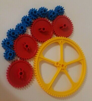 KNEX Medium Gray Gear Lot of 3 Combine Shipping