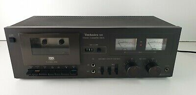 Vintage Technics Stereo Cassette Deck RS-M5 (Rarität) Made in Japan, Top!