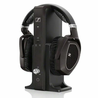 Sennheiser RS 185 Headband RF Wireless Headphones - Black 505564 NOB