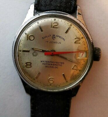 VINTAGE SULLY Spesial MEN MECHANICAL Swiss Made Watch