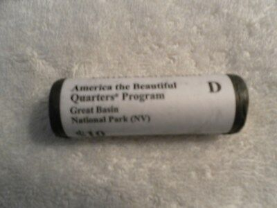 2013 D U.S. Mint ATB Quarter Roll of Great Basin National Park