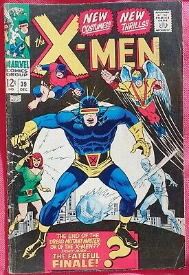 X-Men 39 Marvel Silver Age 1967 New Costumes