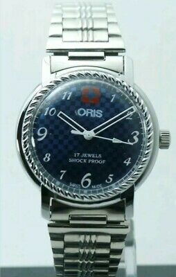 Swiss Made ORIS,  Hand winding, 35mm vintage,  FHF ST-96, WORKING