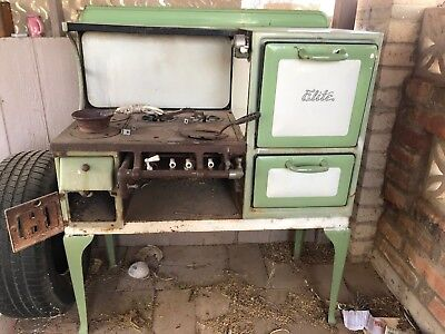 1920's/ 1930's? Antique Vintage Gas Stove Elite