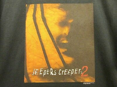 Jeepers Creepers 2 New Xl Movie Promo Shirt Hat Spider Ball Rare