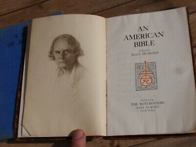 3 Antique  Religious Books Christianity Behold Your King ,An American Bible 1918