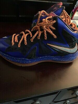 new arrival 32ee7 9be3e Nike lebron 10 X Elite Superhero Size 12 Men s Basketball Shoes