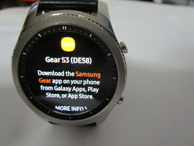 Samsung Galaxy Gear S3 Classic 46mm Stainless Steel Case Silver SM R775v