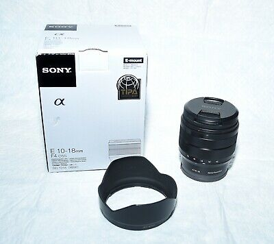 Sony 10-18mm f/4 OSS Lens - Used Once