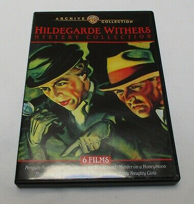 The Hildegarde Withers Mystery Collection (DVD-R, 2 disc set) Warner Archive