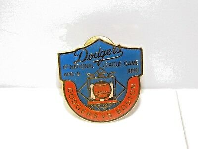 Los Angeles Dodgers 1st National League Game vs Boston 4/19/1890 Pin ~ MLB