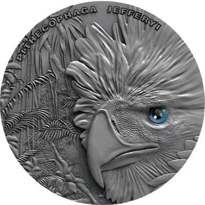 2018 Niue $2 PHILIPPINES EAGLE Sky Hunters High Relief Coin 1 Oz Silver Coin.