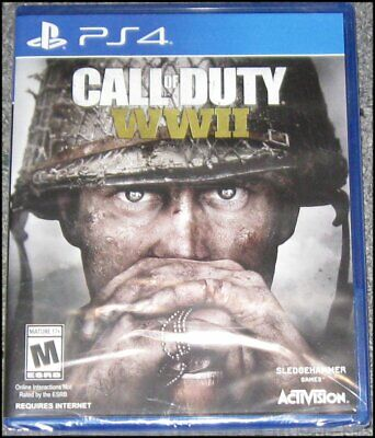 Call of Duty: WWII - Sony PlayStation 4 - PS4 - Brand New and Sealed